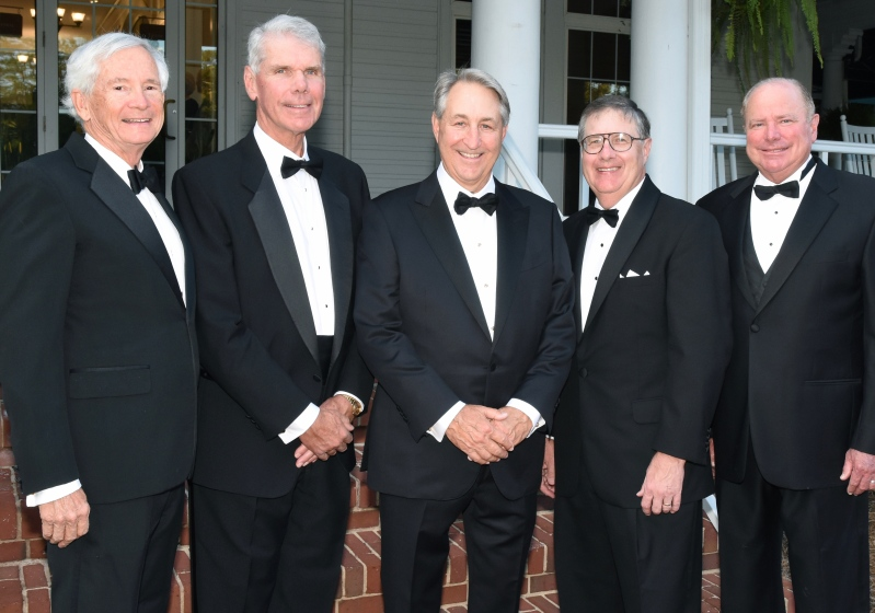 Caption: 2009 Executive Committee (left to right) Chairman Norton Montague, President Joe Dean, First Vice President Ned Olds, Second Vice President Bill Jones, Third Vice President Leroy Thompson